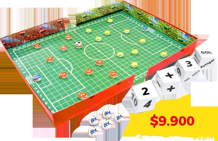 M s o menos f tbol juego de mesa de f tbol estrat gia for Juego de mesa de futbol